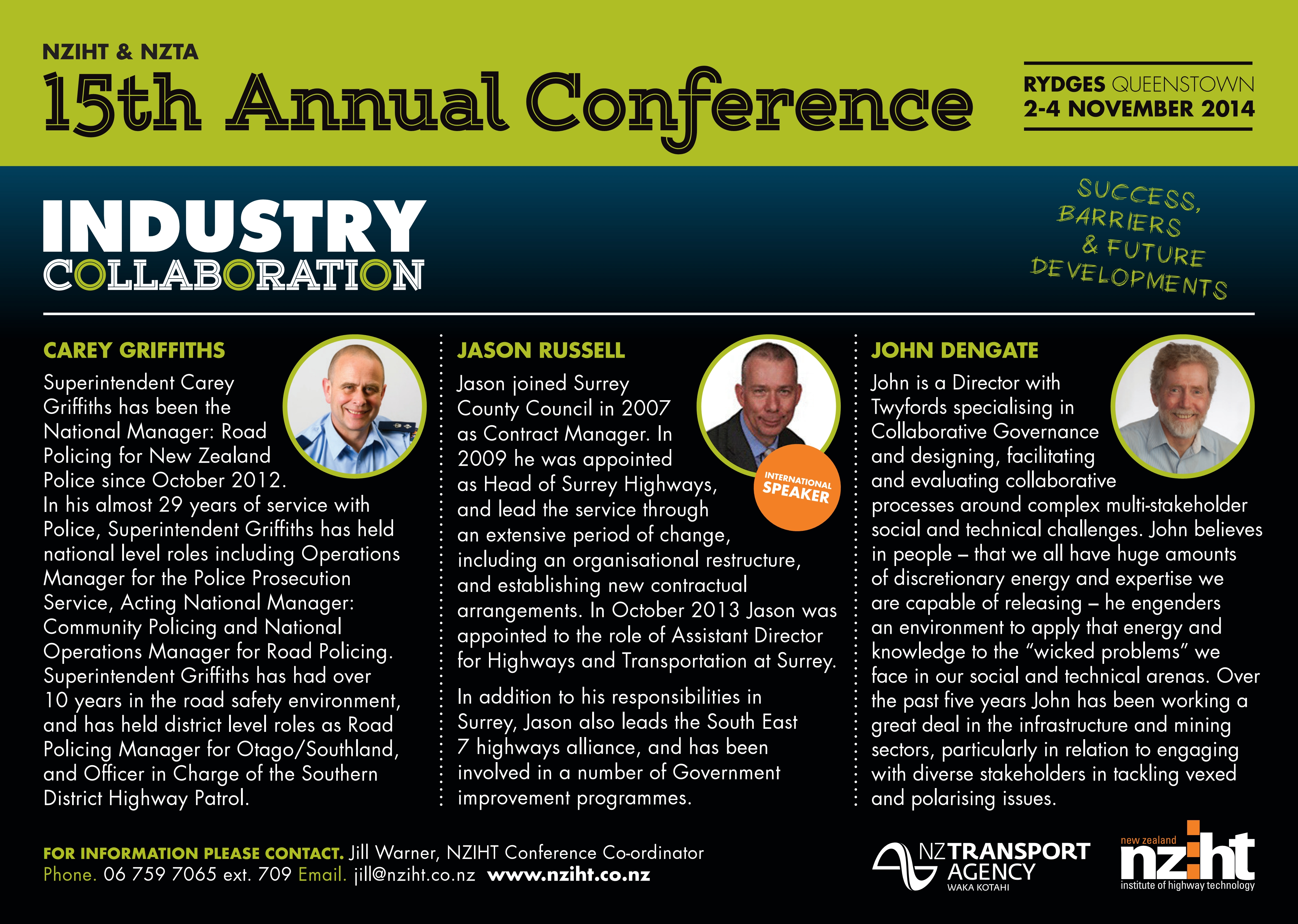 2nd - 4th November 2014, Rydges Queenstown